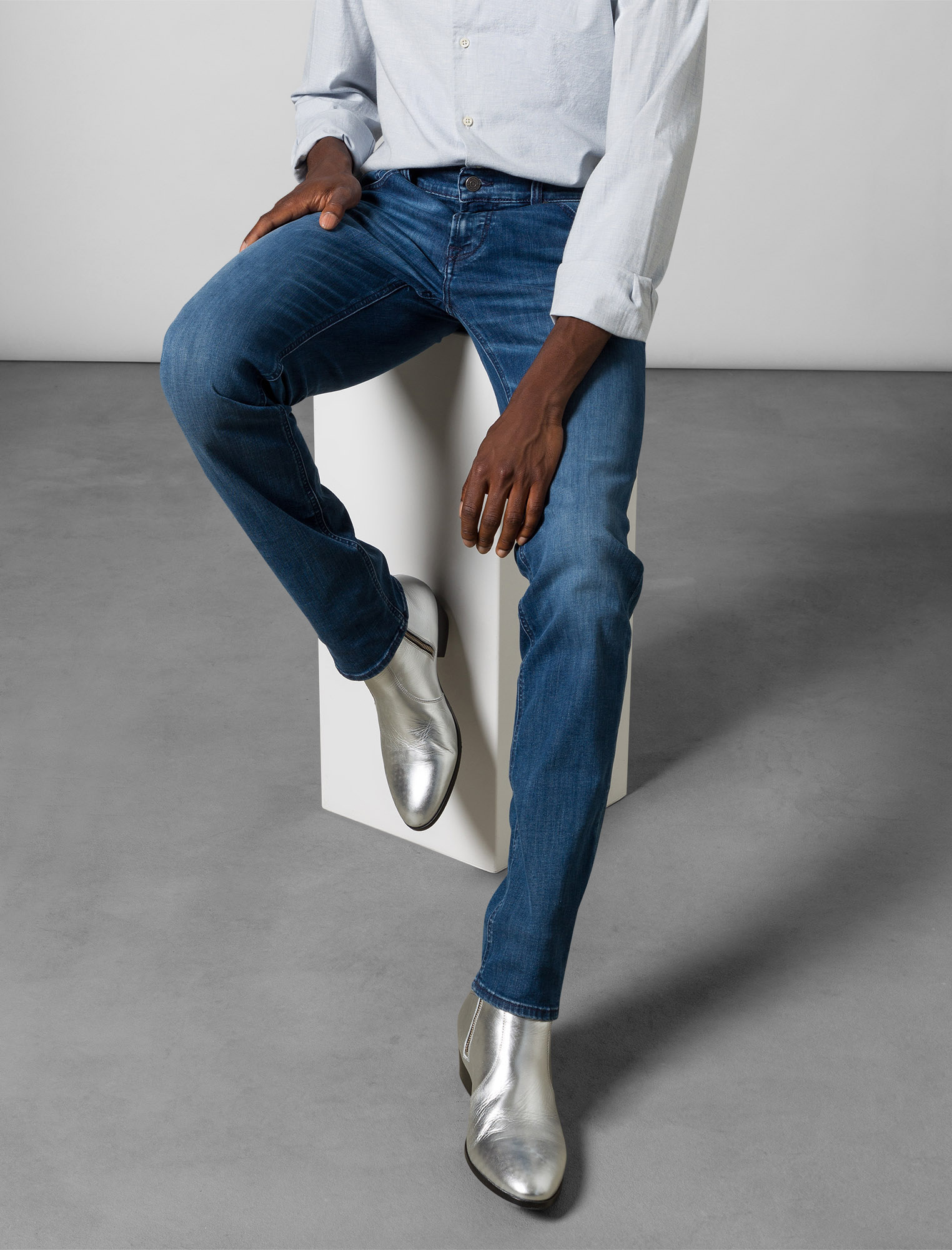 5-Pocket Jeans John ICONIC STRETCH RECOVERY