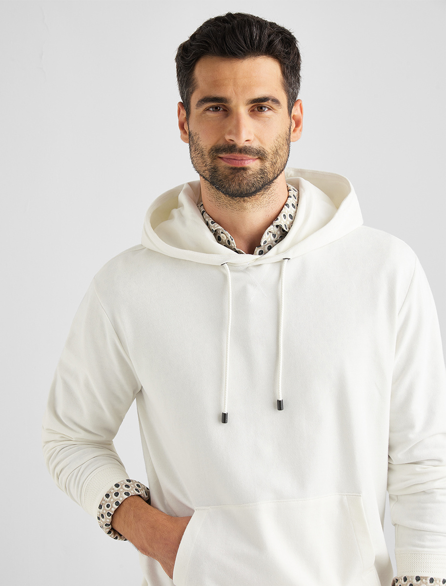 French Terry Hoodie Sasso